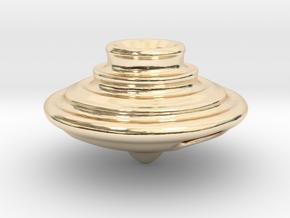 Impeller Top v2 in 14k Gold Plated