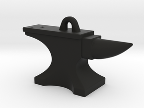Anvil Pendant - Original Design in Black Strong & Flexible