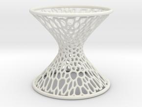 Hyperboloid Mathart in White Natural Versatile Plastic