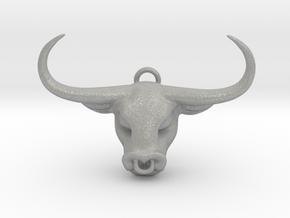 Taurus Pendant in Aluminum