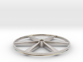 """CHAPP, 1:8 Scale, 26"""" Bicycle Wheel, 120904 in Platinum"""
