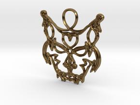 Freyjuköttur - Cat of Freyja in Polished Bronze