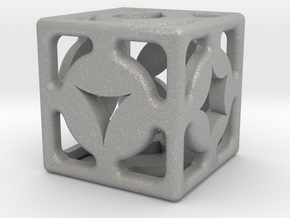 D6 Shape Die in Raw Aluminum