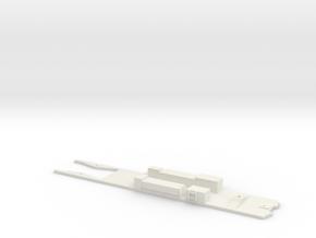 CTA 6000 Series, Bowser Frame in White Natural Versatile Plastic