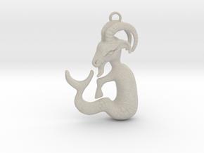 Capricorn Pendant in Natural Sandstone