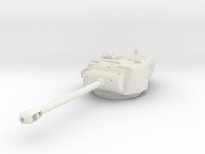 DW08 M26 Pershing Turret (1/48) in White Natural Versatile Plastic