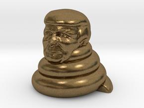 Donald dump in Natural Bronze
