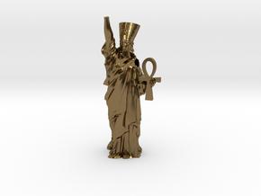 Nefertiti Liberty pendant in Polished Bronze