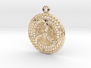 Gjafir Njarðar - The Gifts of Njörður in 14k Gold Plated Brass