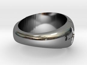 Model-aa9c5bd033fdd8b598fc2dcdaf404209 in Fine Detail Polished Silver