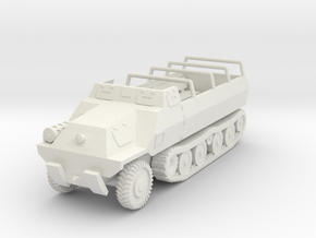 Vehicle- Type 1 Ho Ha (1/100th) in White Natural Versatile Plastic