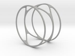 Thin bracelet - 67mm diameter in Aluminum