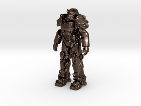 Power Armor T-60 in Polished Bronze Steel