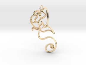 Festive Bloom - Large in 14k Gold Plated