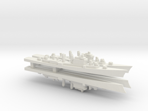 Mitscher class DL x 4, 1/2400 in White Natural Versatile Plastic