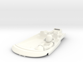 S09-SA1 Cockpit for Scalextric McLaren GT in White Strong & Flexible Polished