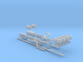1/72 u-boat exhaust system in Smooth Fine Detail Plastic