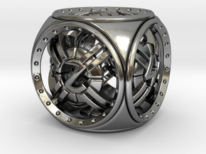 Astro D6 in Polished Silver