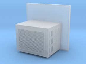 O Scale Window Mounted AC Unit in Smoothest Fine Detail Plastic
