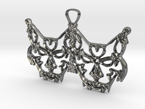 Freyjukettir - Freyja's cats in Fine Detail Polished Silver