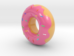 Dude, Its A Donut in Coated Full Color Sandstone