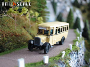 Stadtomnibus (N 1:160) in Smooth Fine Detail Plastic