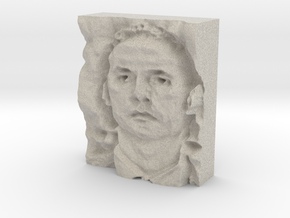 Mutassim Gaddafi : The Warrior in Natural Sandstone