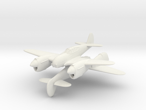 1/200 Curtis Twin P-40 'Twister' (x2) in White Natural Versatile Plastic