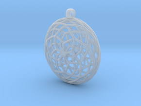 Seed of Life in Smooth Fine Detail Plastic
