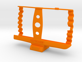 Droid Turbo Tripod Holder in Orange Processed Versatile Plastic