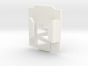 NVG Go Pro Mount in White Processed Versatile Plastic
