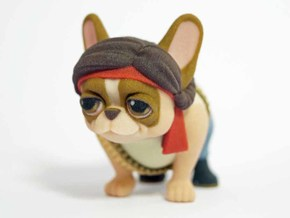 Rambo Frenchie in Full Color Sandstone