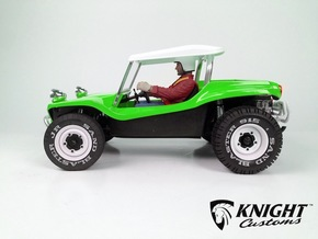 SR40008 Beach Buggy Flip Roof in White Strong & Flexible Polished