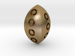 D4 in Polished Gold Steel