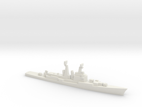 Mitscher class DL, 1974, 1/2400 in White Natural Versatile Plastic