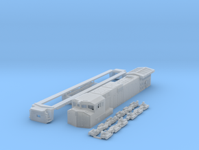 TT scale C44-9wl in Frosted Ultra Detail