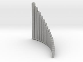 Ultra-lite Alto Panpipe, G1-G4 Right handed  in Aluminum