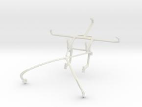 Controller mount for Shield 2015 & ZTE Grand S3 in White Natural Versatile Plastic