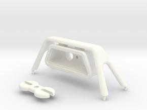 Tamiya Wrangler light bar for hood in White Strong & Flexible Polished