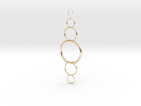 Circles in 14K Yellow Gold