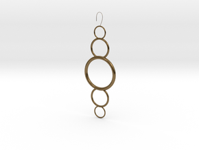 Circles in Polished Bronze