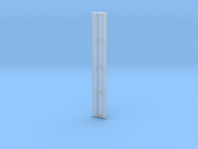 GWR Clerestory 56ft in Smooth Fine Detail Plastic