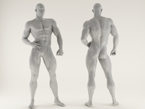 Strong Man scale 1/24 2016028 in Smooth Fine Detail Plastic