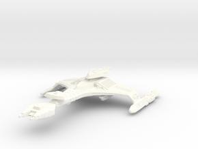 Vor'cha Class HvyBattlecruiser Refit in White Strong & Flexible Polished