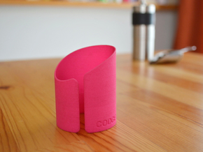 Portable Funnel For Porlex Coffee Mill Mini in Pink Processed Versatile Plastic