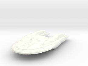 Bradbury Class Cruiser Refit in White Strong & Flexible Polished
