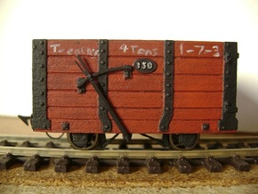 FR Wagon No. 130 5.5mm Scale in Frosted Ultra Detail
