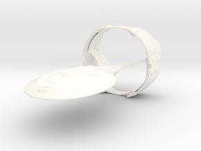 Sovereign Class in White Processed Versatile Plastic