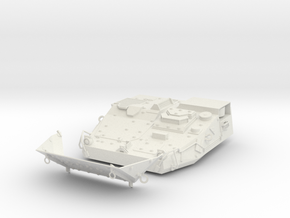 Stryker APC Front Kit(1:18 Scale) in White Natural Versatile Plastic