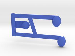 Capable in Blue Processed Versatile Plastic